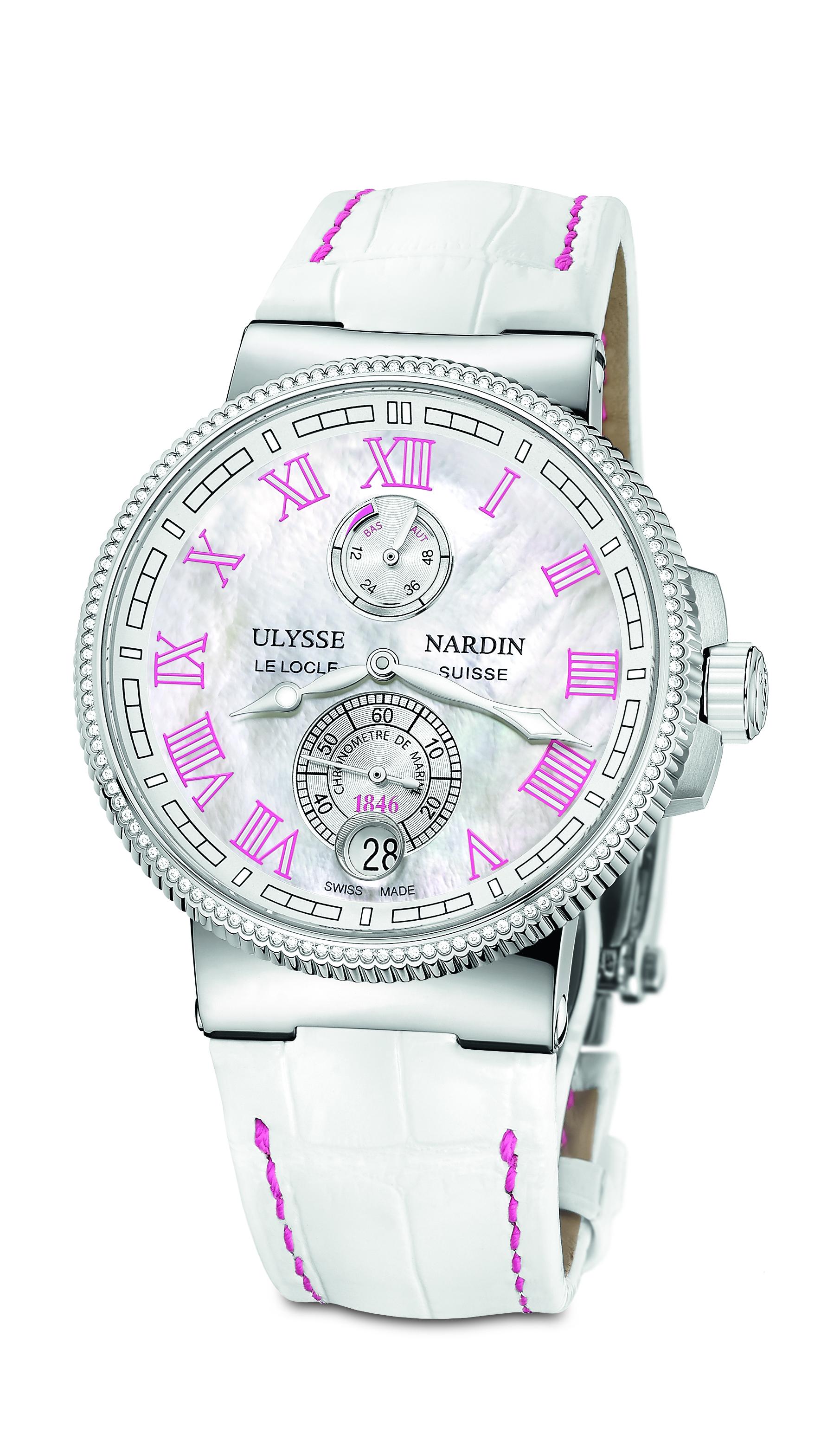 Marine Chronometer Manufacture Ladies