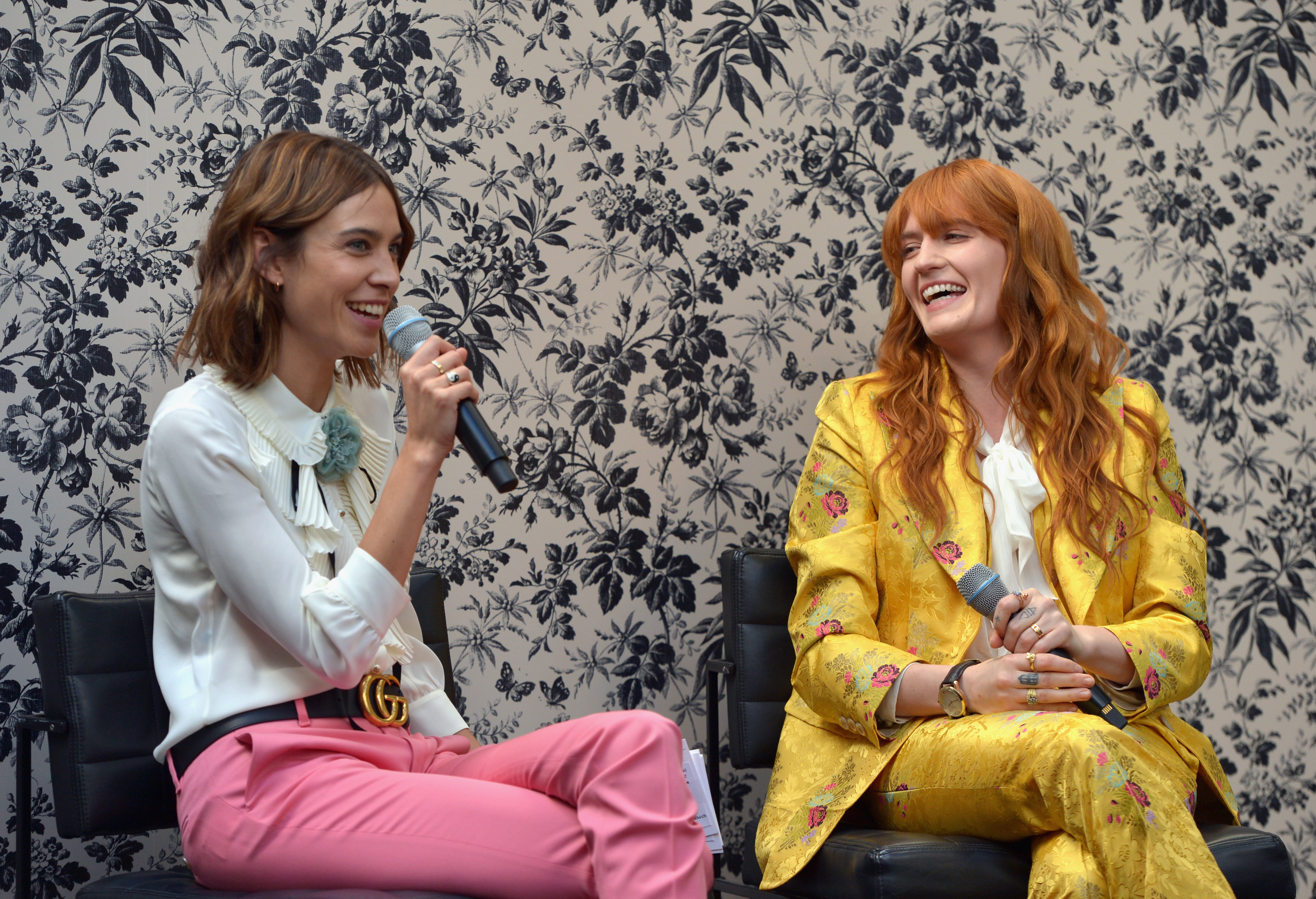 attends Gucci Timepieces and Jewelry announces Florence Welch as 2016 Brand Ambassador on February 12, 2016 in Los Angeles, California.