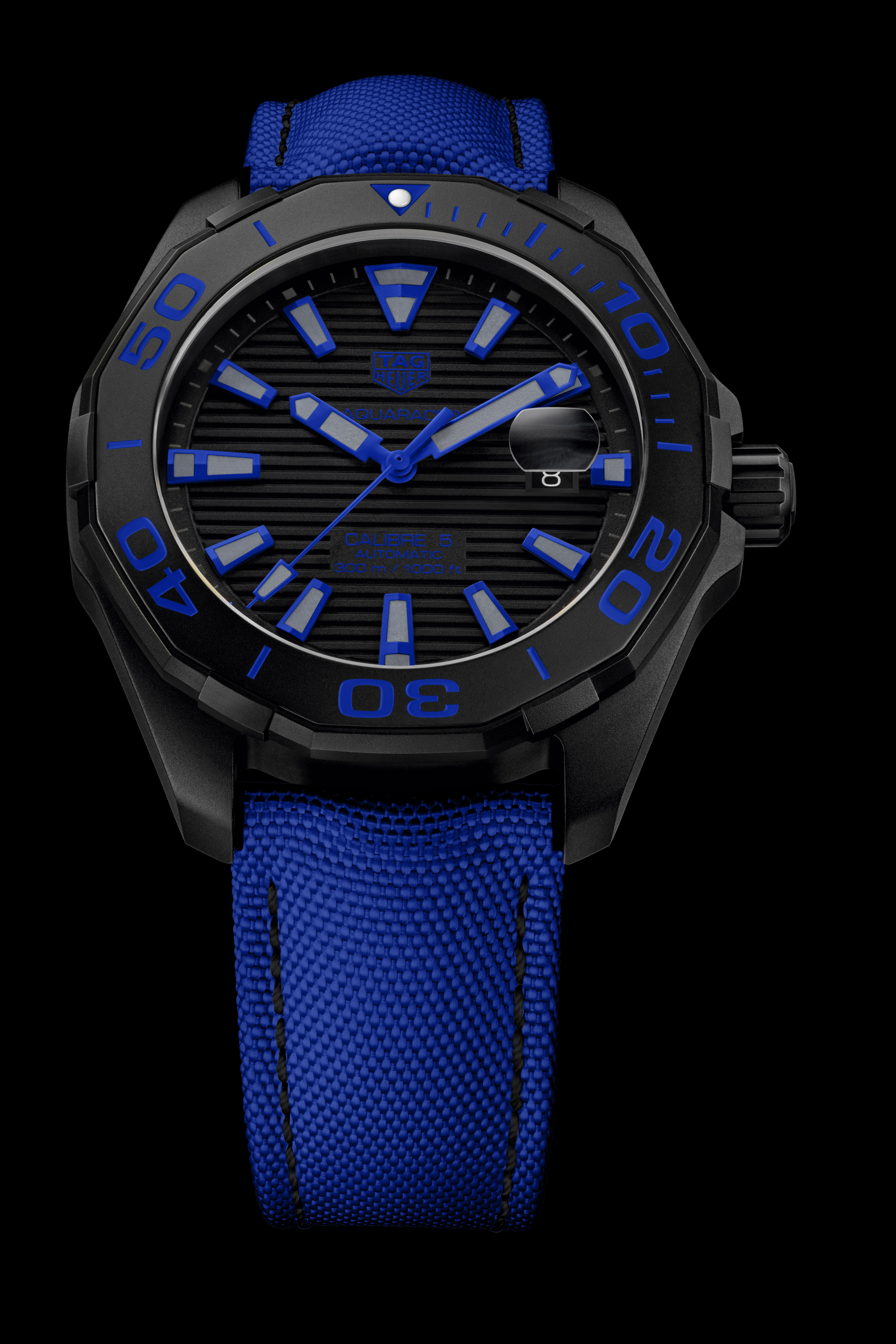 Aquaracer Black Titanium