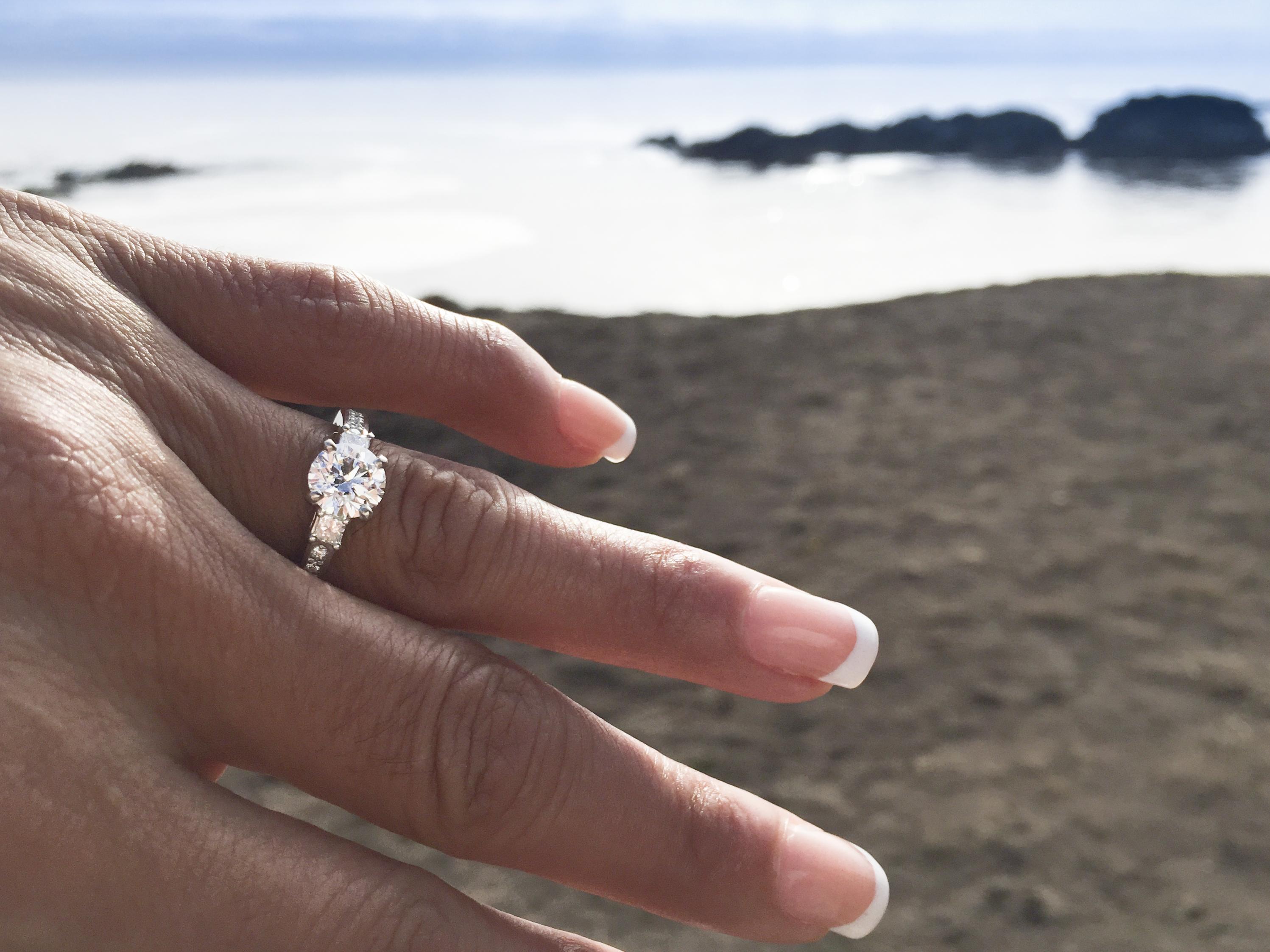 Engagement Ring - Lugaro - Vancouver & Victoria